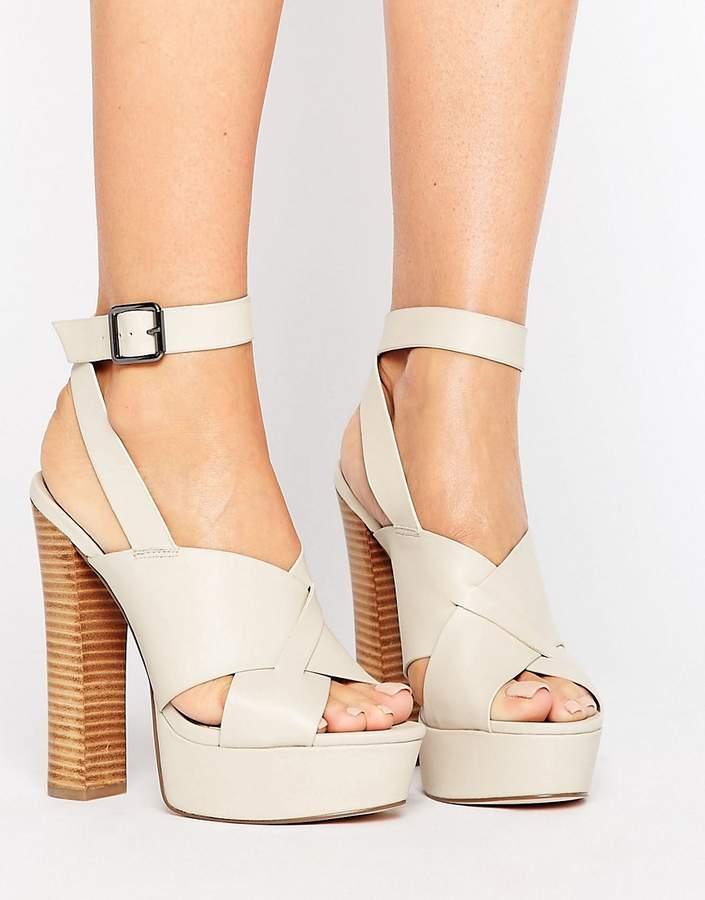 AsosASOS TULEM Platform Heeled Sandals