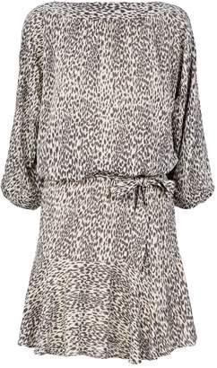 AllSaints Laci Lep Print Dress