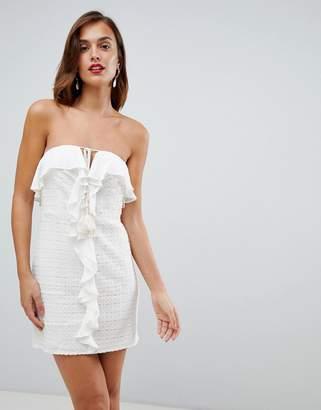 The Jetset Diaries Calloway Ruffle Mini Dress