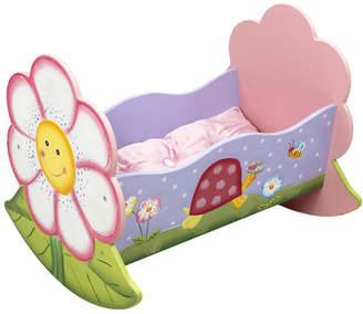 Fantasy Fields Magic Garden Rocking Bed for Dolls