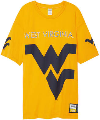 Tailgate PINK West Virginia University Oversized Tee