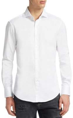 Brunello Cucinelli Slim-Fit Cotton Shirt