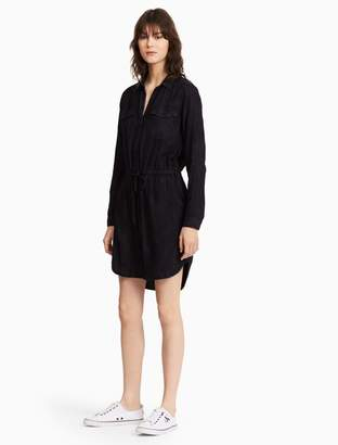Calvin Klein midnight wash shirt dress
