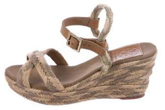 Tory Burch Jute Platform Wedges