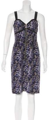 Vena Cava Floral Silk Dress