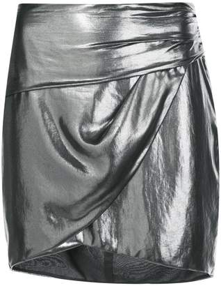 Michelle Mason fastened fitted skirt