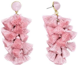 BaubleBar Tassel Cluster Drops Earrings