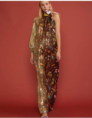 Cynthia Rowley Offshore Garden Floral One Sleeve Dress