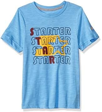 Starter Boys' Short Sleeve Retro Star Logo T-Shirt