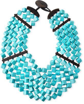 Viktoria Hayman Turquoise Drape Necklace