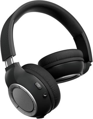Sharper Image Black SBT658 Ultra-Premium Wireless Headphones