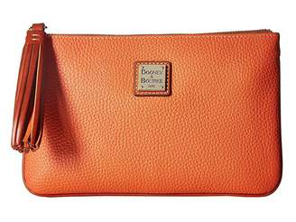 Dooney & Bourke Pebble Carrington Pouch Handbags