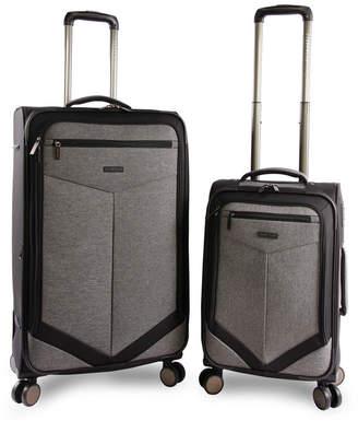 Perry Ellis Reverse 2-Piece Luggage Set