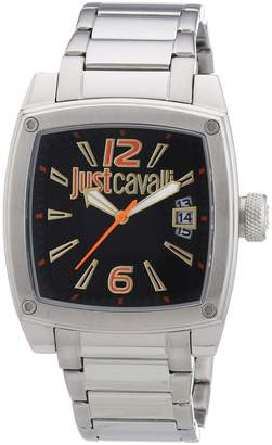 Just Cavalli Men's R7253583001 Pulp Silver Stainless steel Band Watch.