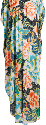 MARA HOFFMAN Arcadia Indigo-print cover-up maxi dress $310 thestylecure.com