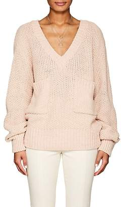Chloé WOMEN'S CHUNKY KNIT OVERSIZED SWEATER