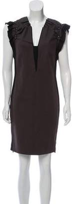 Schumacher Embellished Mini Dress