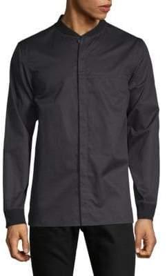 Helmut Lang Long-Sleeve Bomber Shirt