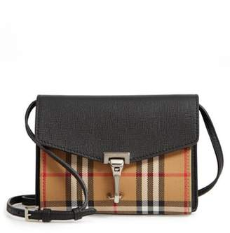 Burberry Baby Macken House Check Crossbody Bag