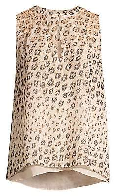 Joie Women's Corie Leopard Sleeveless Top