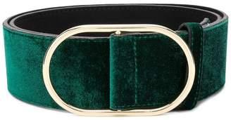 Frame faux suede belt