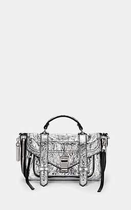 Proenza Schouler Women's PS1+ Tiny Leather Shoulder Bag - Silver