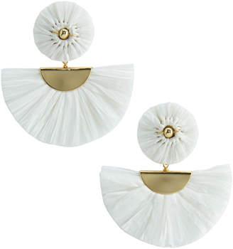 Vineyard Vines Raffia Fan Earrings