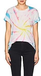 The Elder Statesman Women's Tie-Dyed Cashmere-Silk T-Shirt