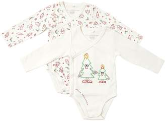 Stella McCartney Set Of 2 Cotton Interlock Bodysuits