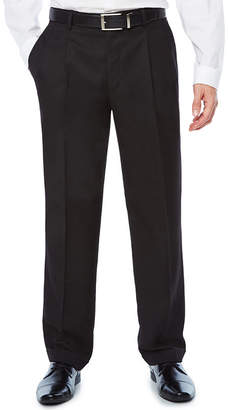STAFFORD Stafford Mens Classic Fit Pleated Pant - Big and Tall
