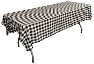 LA Linen Gingham Tablecloth