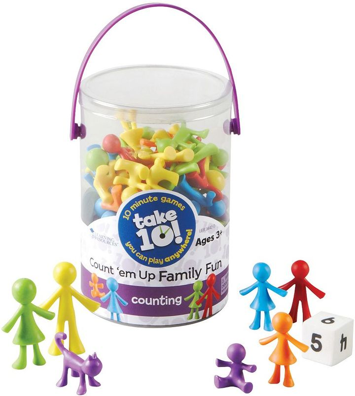 Learning Resources Take 10! Count 'em Up Family Fun Set