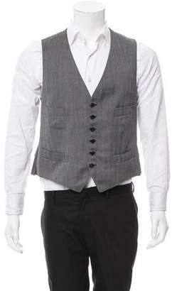 Tom Ford Wool-Blend V-Neck Vest