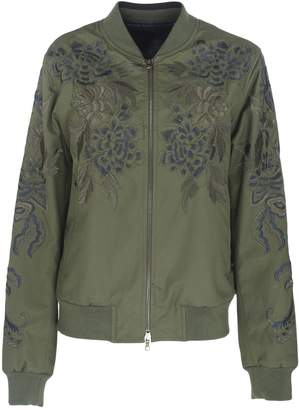 Dries Van Noten Floral Print Bomber Jacket