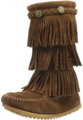 Minnetonka 3 Layer Fringe Boot (Toddler/Little Kid/Big Kid)