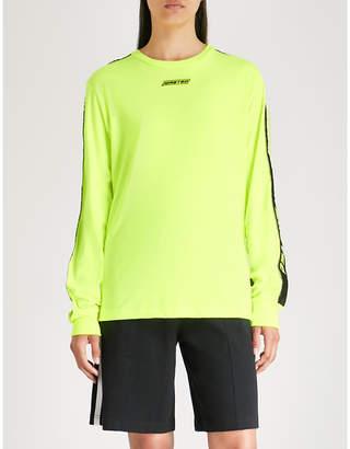 Wasted Paris Neon cotton-jersey sweatshirt