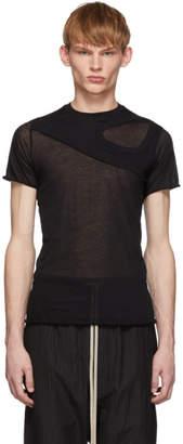 Rick Owens Black Membrane Level T-Shirt