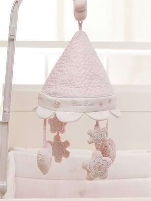 Silver Cross Luxury Cot Mobile - Vintage Pink
