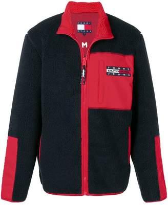 Tommy Jeans faux fur jacket