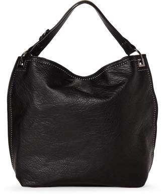 Urban Expressions Black Kenya Studded Vegan Hobo