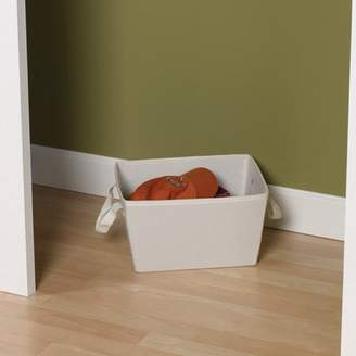 Household Essentials Canvas Collection Tapered Bin