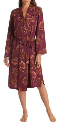 MIDNIGHT BAKERY Austin Floral Robe