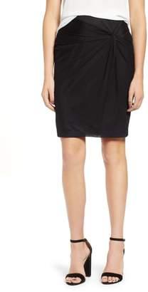 1 STATE 1.STATE Mesh Knee Length Skirt