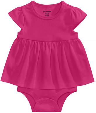First Impressions Cotton Bodysuit Dress, Baby Girls