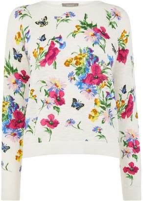 Oasis Painted Meadow Printed Knit