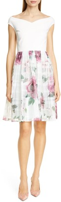 Ted Baker Licious Magnificent Fit & Flare Dress