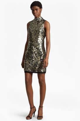 French Connenction Moon Rock Sparkle Tunic Dress