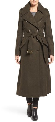 Women's London Fog Double Breasted Trench Coat $258 thestylecure.com
