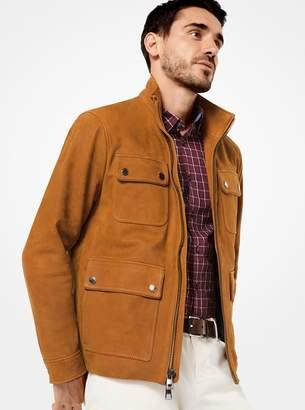 Michael Kors Leather Field Jacket