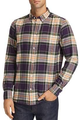 Wesc Olavi Plaid Regular Fit Button-Down Shirt